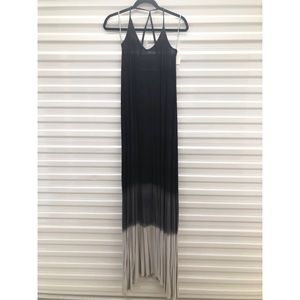 American Twist Strappy Ombré Maxi Dress
